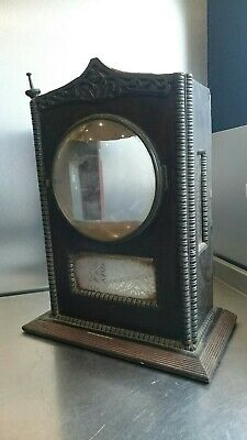 Bracket / Mantle Clock Case In Need Of Restoration Unusual