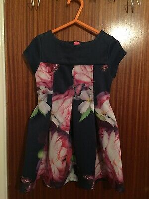 Stunning Genuine Ted Baker Baby Girls Party Dress Aged 2-3 Years
