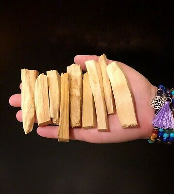 Palo Santo Holy Stick Wood Incense 25 fresh sticks (4+inches long)