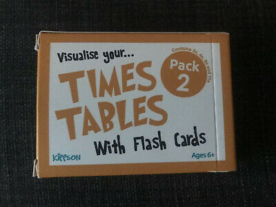 Times Table Flash Cards Pack 2