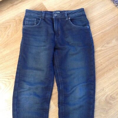 Boys Dark Blue Skinny Jeans 12-13 Excellent Condition