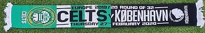 Celtic Vs Copenhagen Fc Scarf 2020