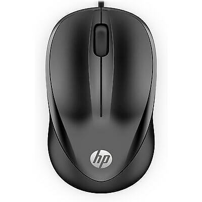 HP Wired Mouse 1000 | Black | 4QM14AA#ABL