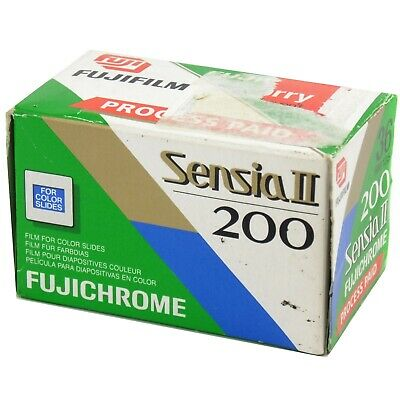 Fujifilm Fujichrome Sensia II 200 35mm Slide Film 36 Exp Out Of Date