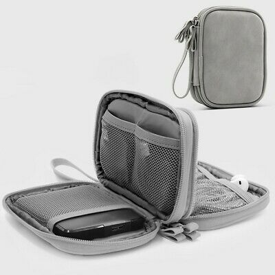 Electronics Travel Organizer USB Cable Storage Bag Portable Case Bag Accessories
