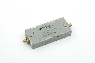 MICROGUIDE BANDPASS FILTER BSF-1314-45 13.38-14.02GHz