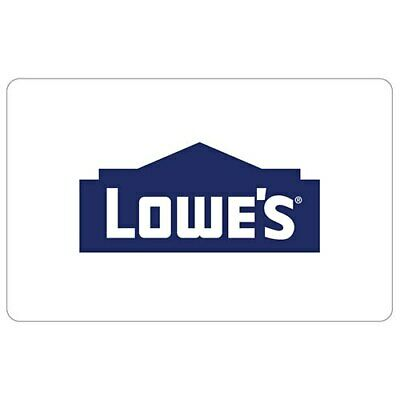 Lowes Gift Card $500