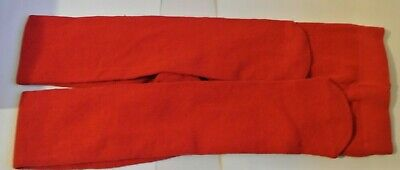 New girls warm lined tights Red size 9-10 years