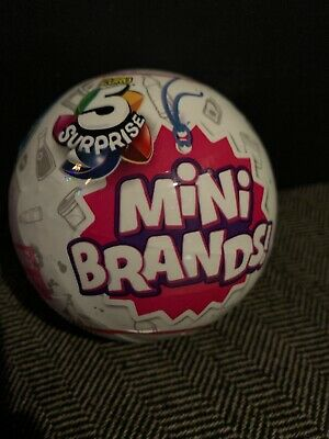 5 Surprise Mini Brands 1 BALL -BY ZURU 100% AUTHENTIC   HOTTEST TOY
