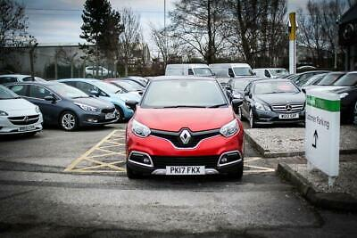 2017 17 RENAULT CAPTUR 1.2 TCE Signature Nav 5dr in Flame Red