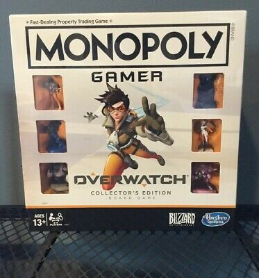 Monopoly Gamer Overwatch Collector's Edition Board Game Brand New! ****SALE****