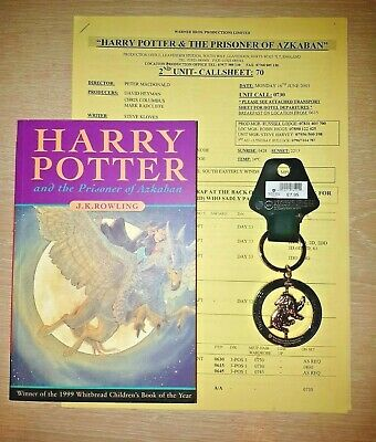 Harry Potter and the Prisoner of Azkaban PB Book Rare First Edition 1st Print+++