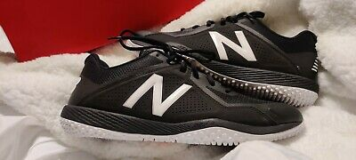 New Balance Low-Cut 4040v4 Turf Baseball Cleat Mens Shoes Black