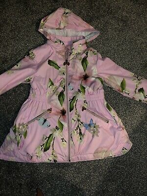 Girls Ted Baker Lined Raincoat Age 6