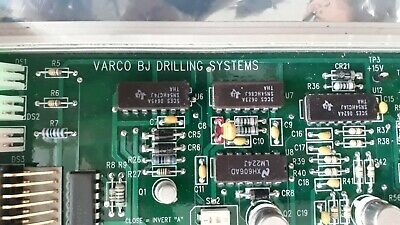 Varco BJ 92960 Rev E Speed / Torque Interface II Varco BJ Drilling Systems Board
