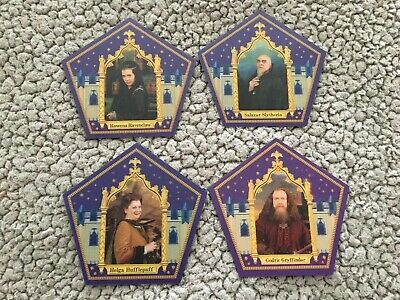 Harry Potter Chocolate Frog Cards 4 House Founders