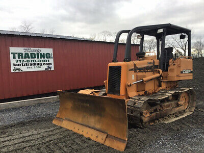 2004 Case 550H LT Tracked Crawler Dozer w/ 6 Way Blade Cummins Diesel 1500Hrs!