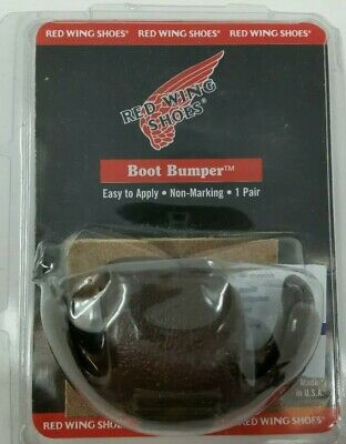 Red Wing Shoes..Boot Bumper..One Pair..BROWN...Toe Repair..NEW IN PACKAGE