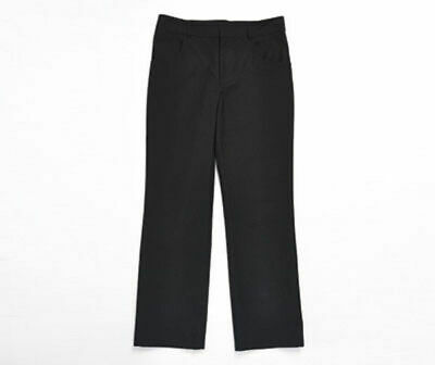 Teflon Coated Slim Leg Boys Trousers In The Colour Black  Age: 8-9 Years Bnwt