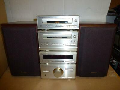 TECHNICS HD301 HIFi COMPONENT STEREO SYSTEM-No Remote-SUPERB QUALITY