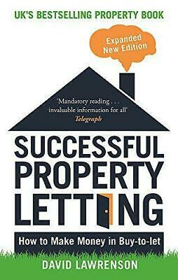 Successful Property Letting: How to Make Money in Buy-to-Let, Very Good Conditio