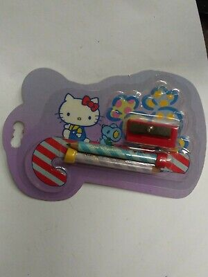 Hello Kitty 1976-1984 Pencils With Sharpener