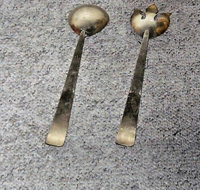 Vntg.Sterling OR Silver PLATED   Serving SET  marked   Triple Crown NOT SCRAP
