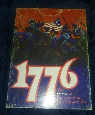 1776 Avalon Hill Boardgame USED 1974