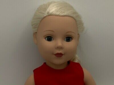 Madame Alexander Doll 18 Inches 2009 Blonde Hair Blue Sleepy Eyes Outfit