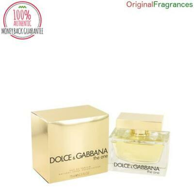 The One Perfume 2.5 oz 75 ML 1.7 oz 50 ML By DOLCE & GABBANA FOR WOMEN EDP NEW