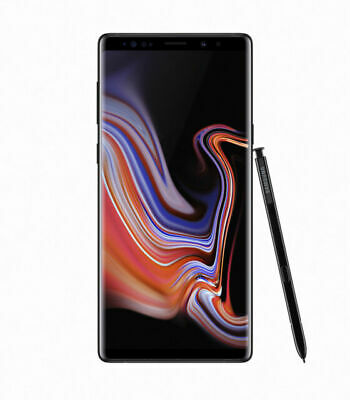 Samsung Galaxy Note9 SM-N960 - 128GB Midnight Black Factory Unlocked - NEW