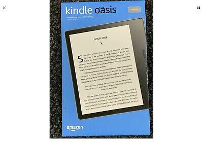 Amazon Kindle Oasis (10th Generation) 8GB, Wi-Fi, 7in - Graphite with Amazon
