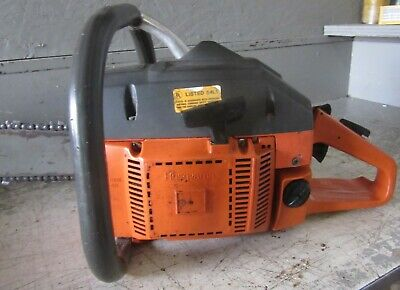 """Vintage Collectible Husqvarna 266Se Chainsaw With 28"""" Bar"""