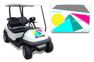 Club Auto Kapuze Grafik Set Golf Cart Sticker Wrap Precident i2 08-13 Vice