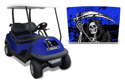 Club Auto Kapuze Grafik Set Golf Cart Sticker Wrap Precident i2 08-13 Reap U