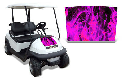 Club Auto Kapuze Grafik Set Golf Cart Sticker Wrap Precident i2 08-13 Eis P