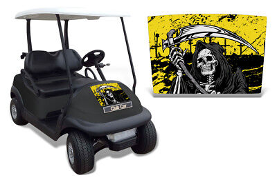 Club Auto Kapuze Grafik Set Golf Cart Sticker Wrap Precident i2 08-13 Reap Y