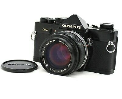 [Exc++++] Olympus OM-2n w/ OM-System Zuiko MC AUTO-S 50mm F/1.4 Lens from Japan