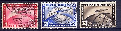 "1928-31, ALEMANIA, GERMANY, ""Zeppelin"" AIR MAIL"