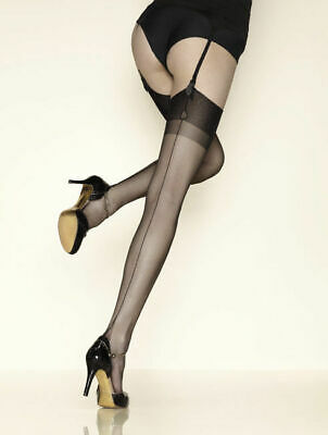 Bas couture GERBE CARNATION 10. Fully fashioned stockings.