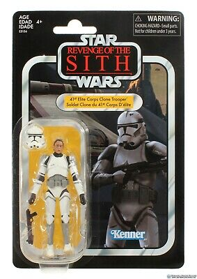 Star Wars Vintage 41st Elite corps clone trooper Exclusive VC145