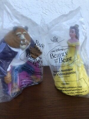 Walt Disney Princess Beauty and The Beast Figures Cake Topper Toys
