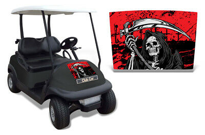 Club Auto Kapuze Grafik Set Golf Cart Sticker Wrap Precident i2 08-13 Reap R