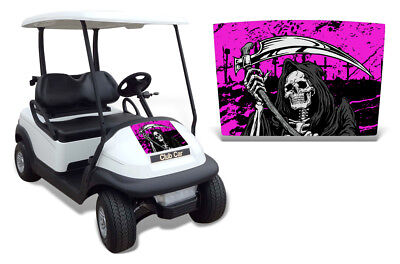 Club Auto Kapuze Grafik Set Golf Cart Sticker Wrap Precident i2 08-13 Reap P