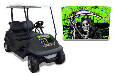 Club Auto Kapuze Grafik Set Golf Cart Sticker Wrap Precident i2 08-13 Reap G