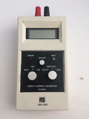 RS Direct Current Calibrator 203-293
