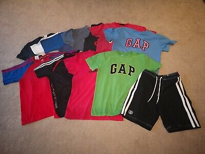 Joblot Boys Designer t-Shirts Adidas Nike Hollister Canterbury 13-15 Years