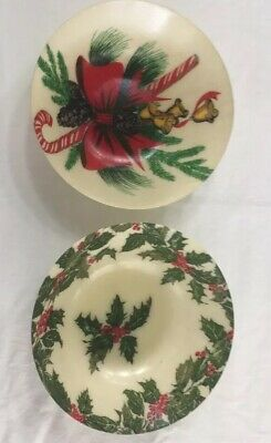 Vintage Artmor Christmas Serving Bowls 60's