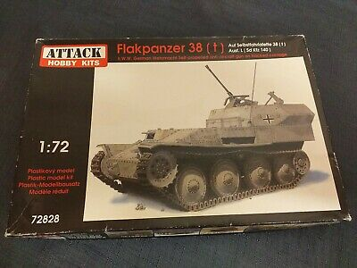 CHAR LEGER ALLEMAND 15cm sIG 33 Ausf JgdPz KIT ATTACK HOBBY KITS 1//72 n° 72810