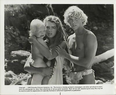 """BROOKE SHIELDS & CHRISTOPHER ATKINS in """"The Blue Lagoon"""" - Original Photo 1980"""